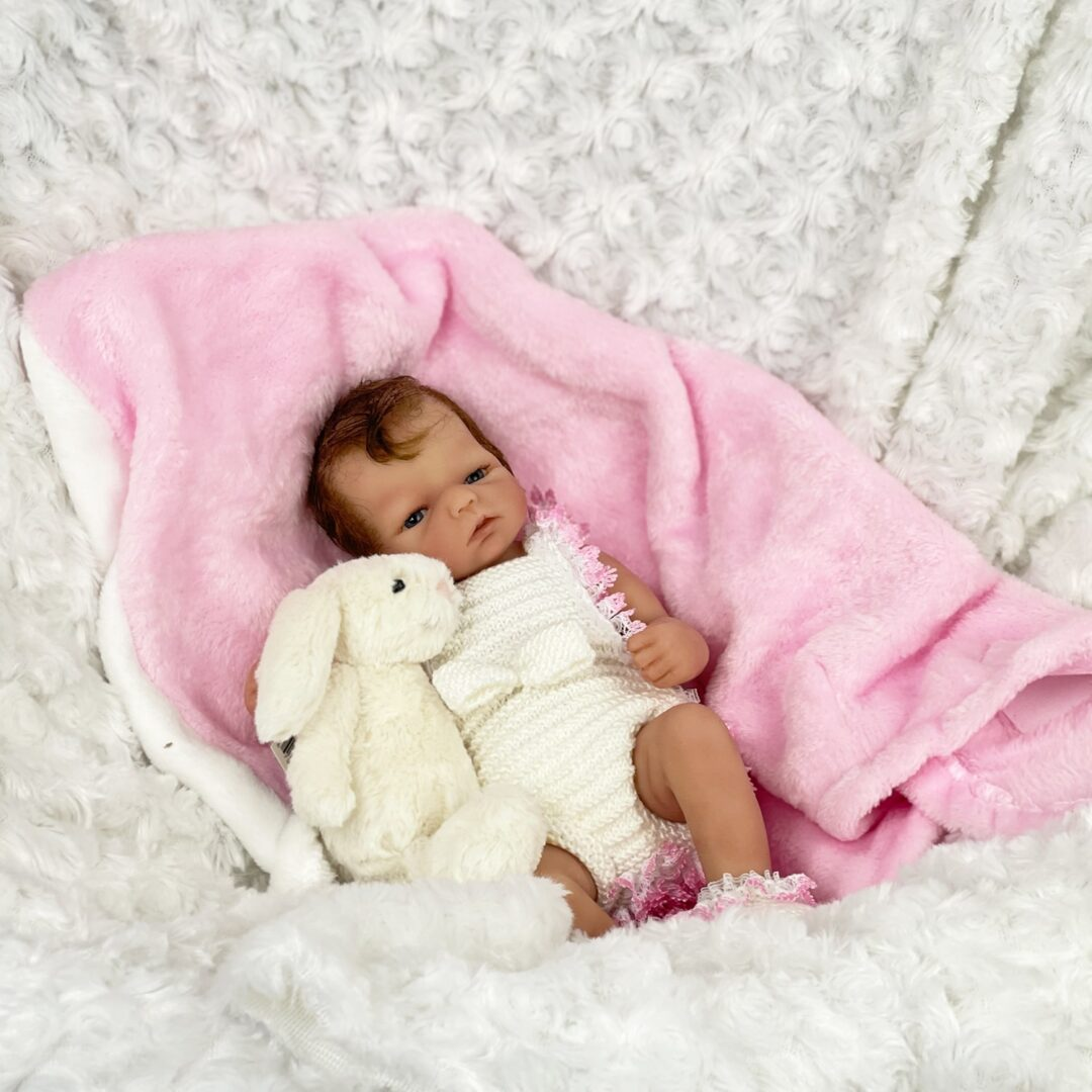 Hallie Full Bodied Silicone Baby 1-min