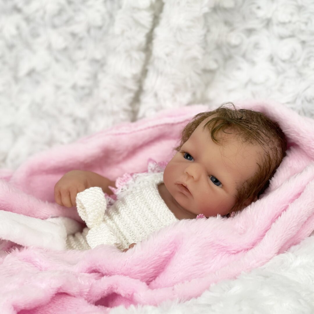 Hallie Full Bodied Silicone Baby-min