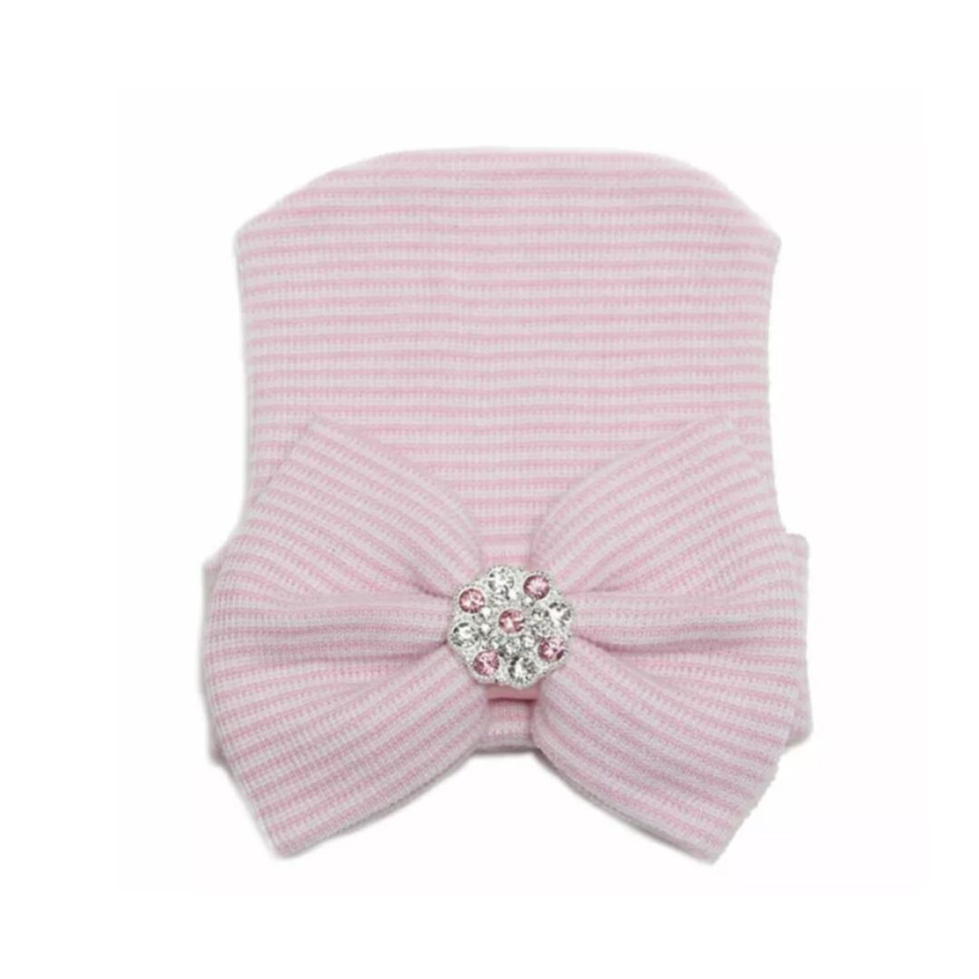 Newborn Baby Hat Pink-min