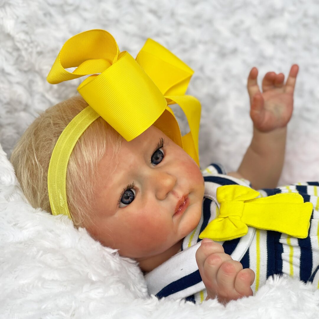 Luxe Reborn Baby Doll Mary Shortle 3-min