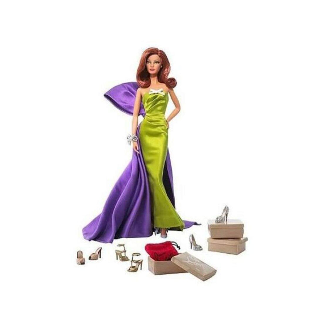 Christian Louboutin Anemone Barbie-min