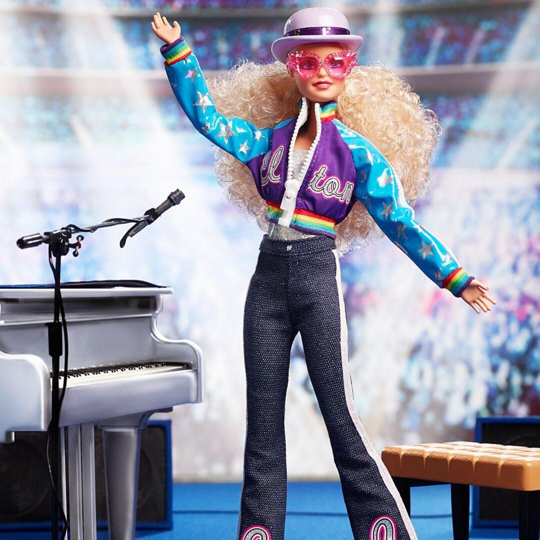 Elton John Barbie-min