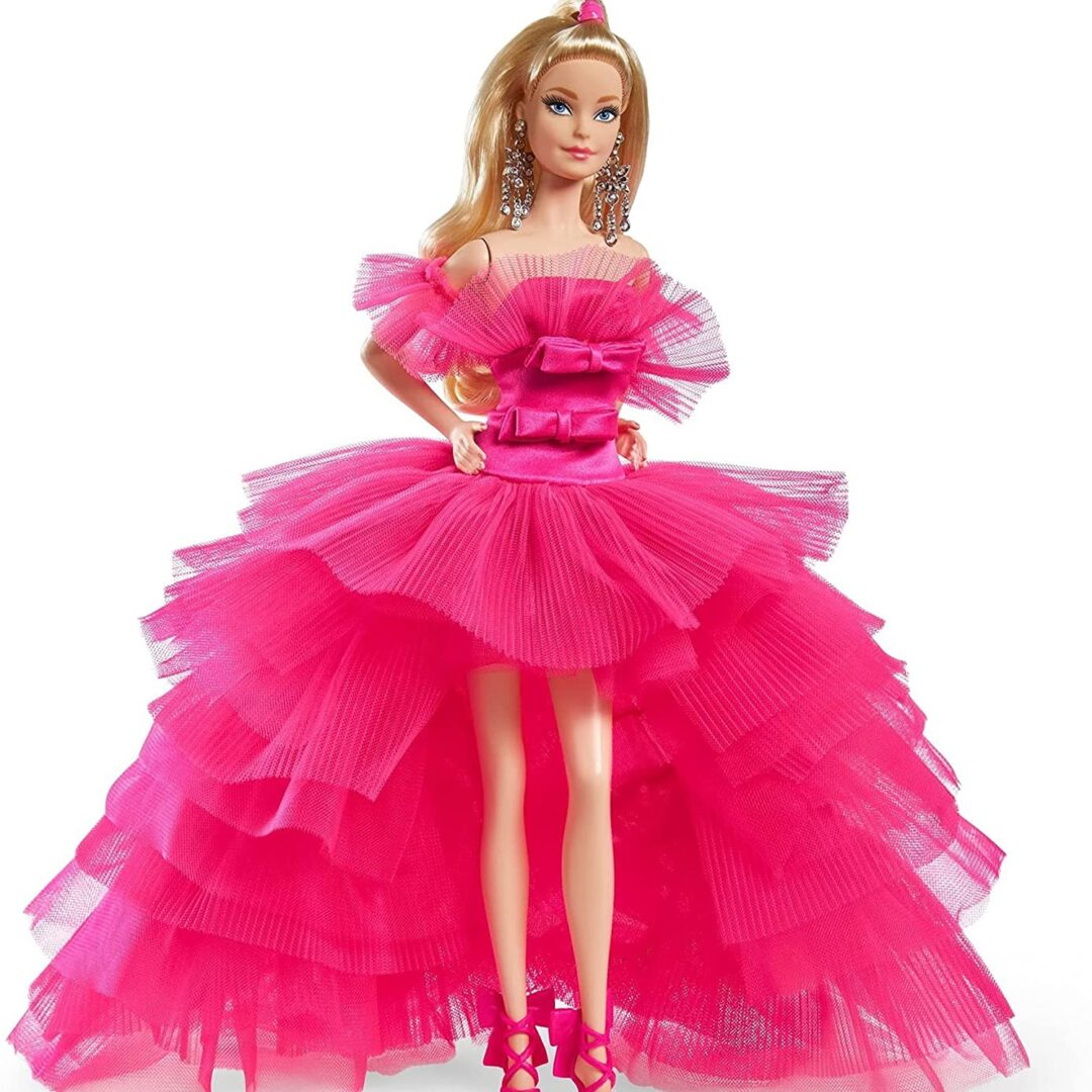 Pink Collection Doll Barbie-min