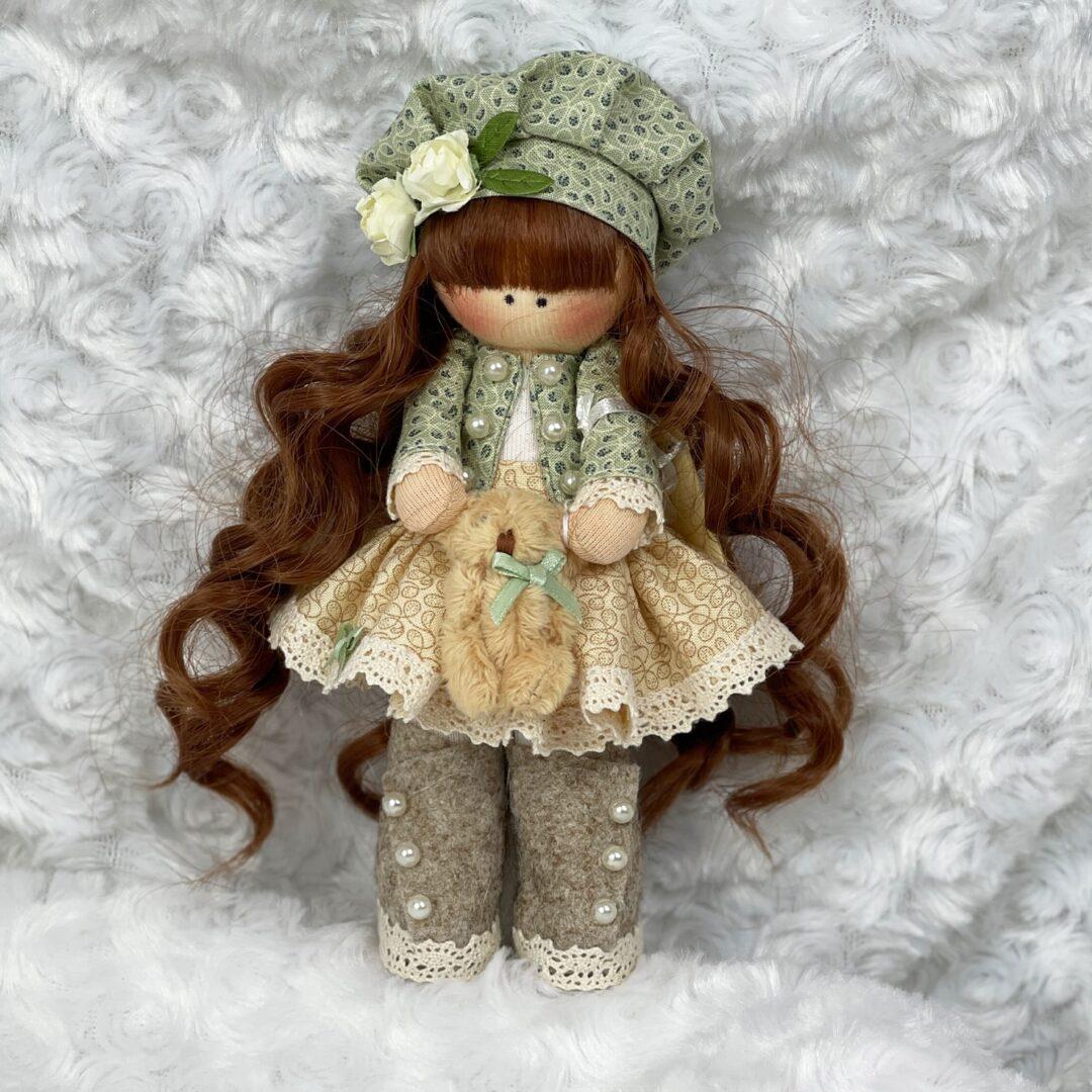Belle Artist Cloth Doll-min