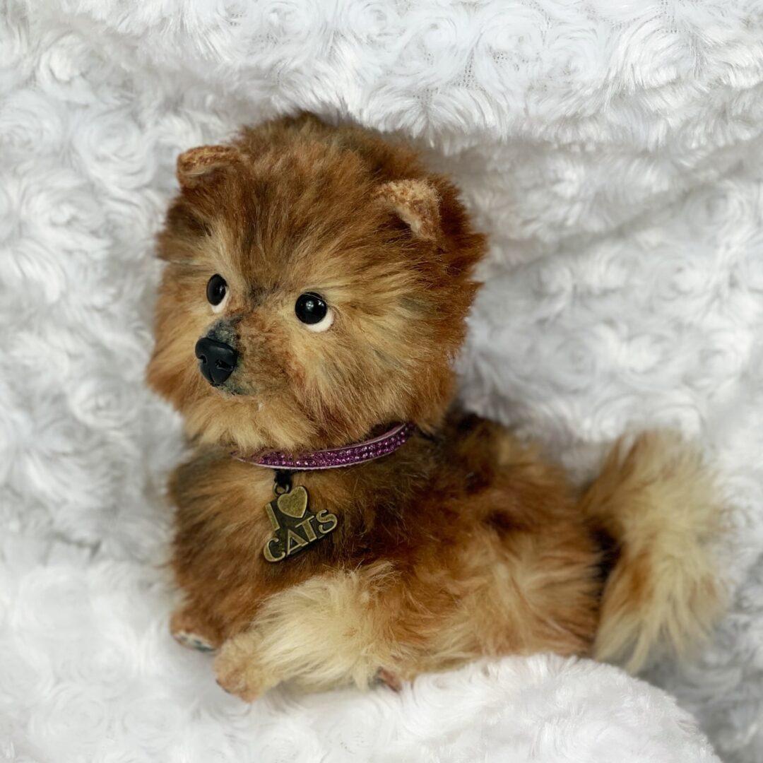 Pom Pom Artist Puppy-min