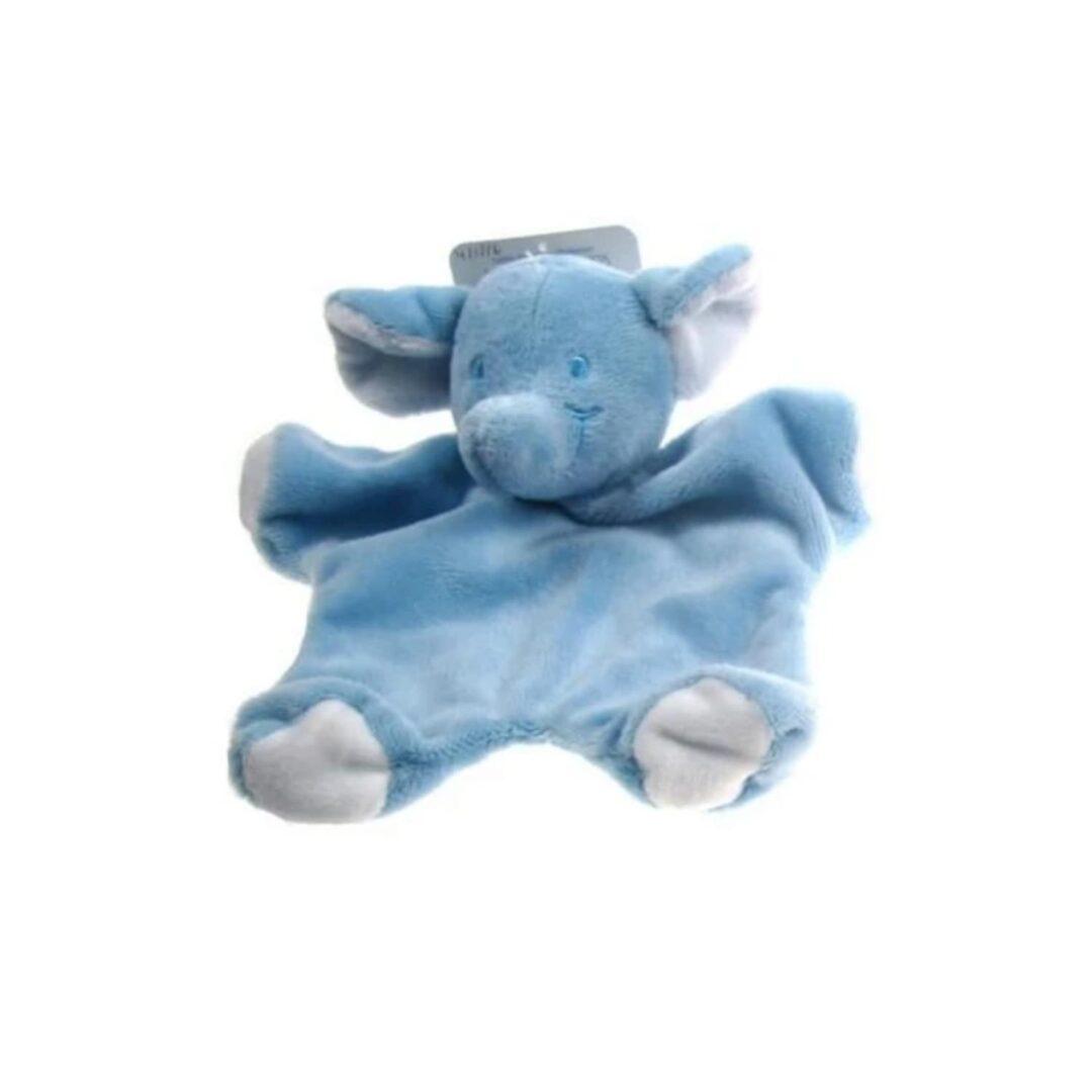 Blue Elephant Comforter-min