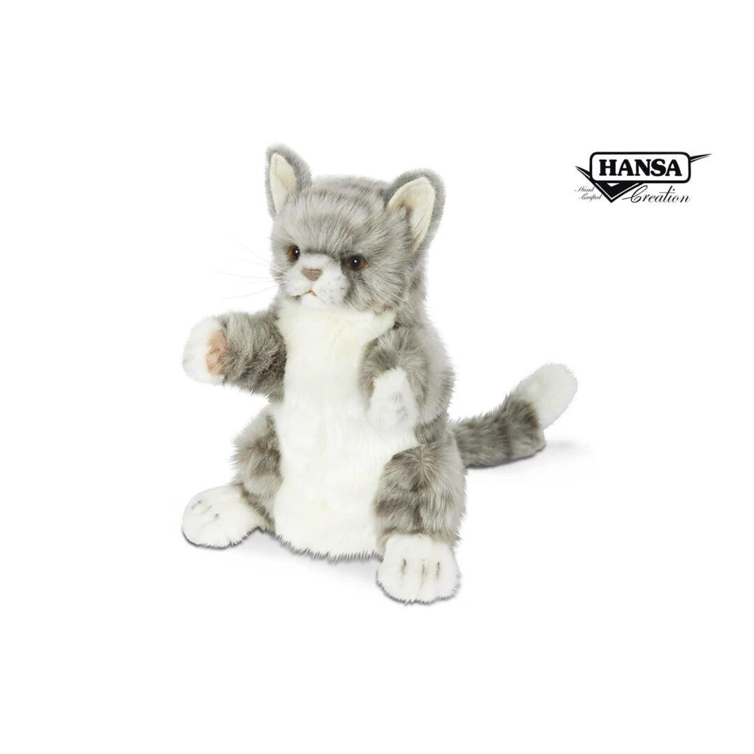 Cat Hand Puppet Hansa -min
