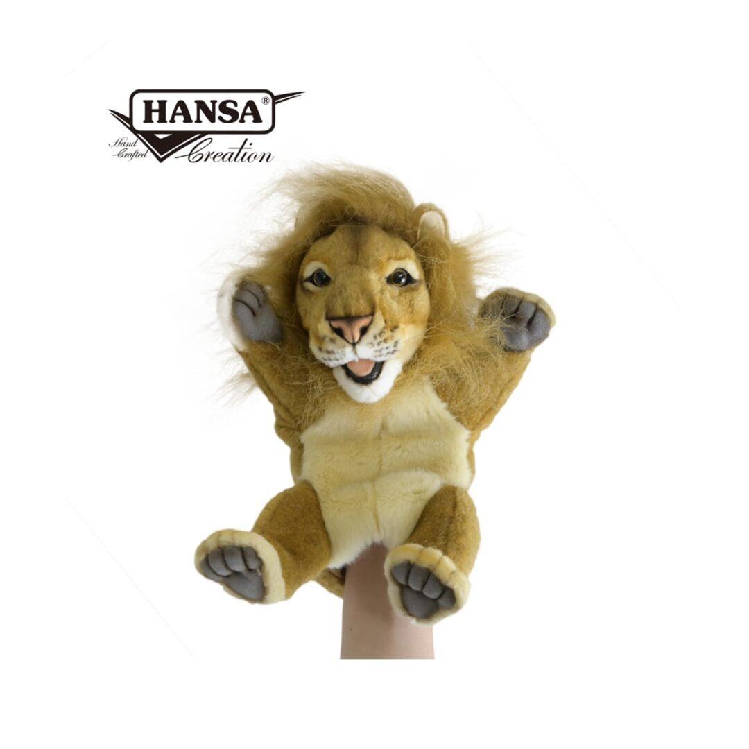 Lion Hand Puppet Hansa-min (1)