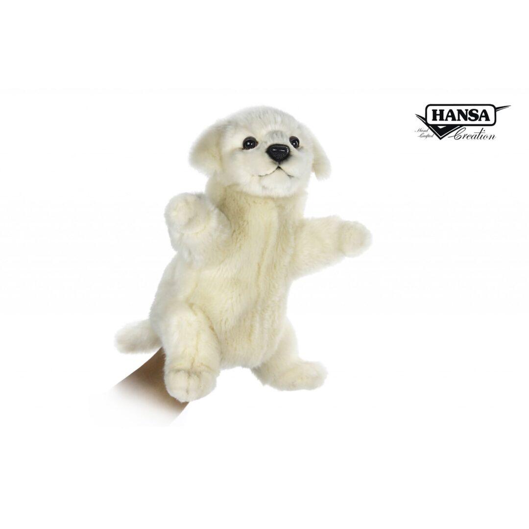 Maremma Dog Hand Puppet-min