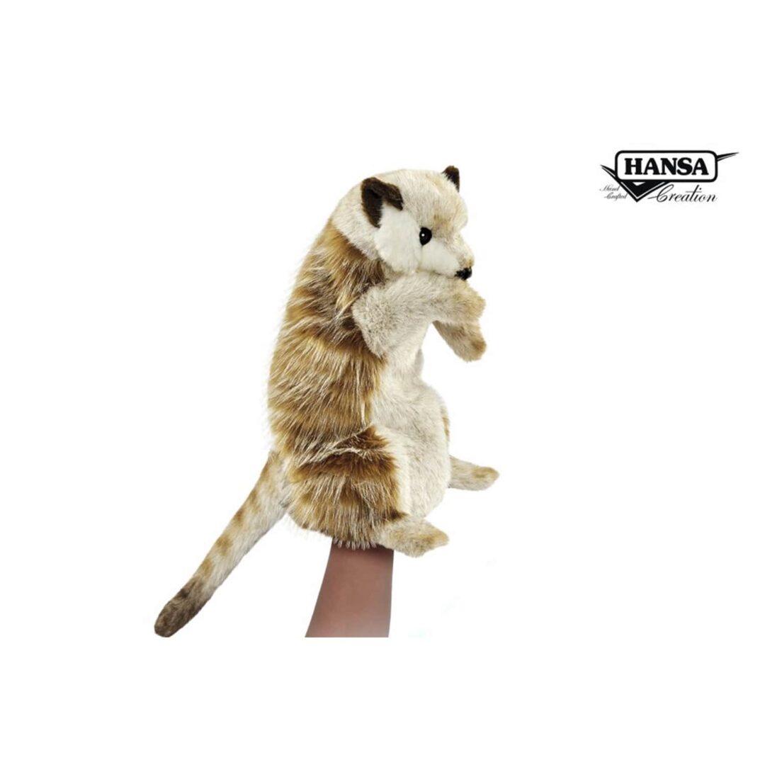Meerket Hand Puppet Hansa-min