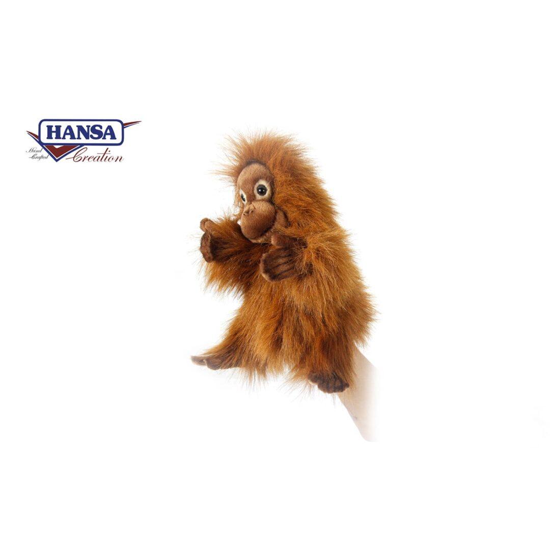 Orangutan Hand Puppet-min