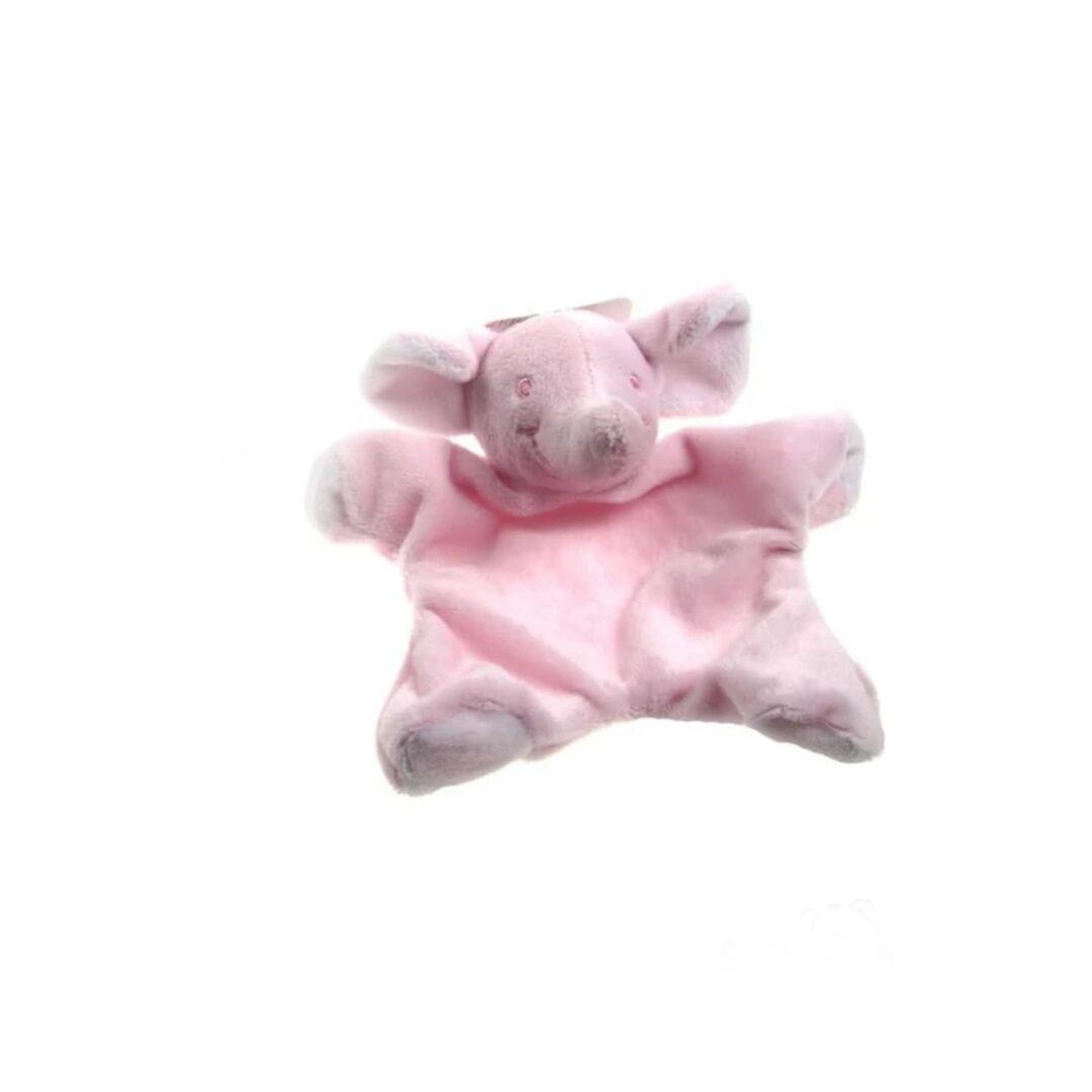 Pink Elephant Comforter-min