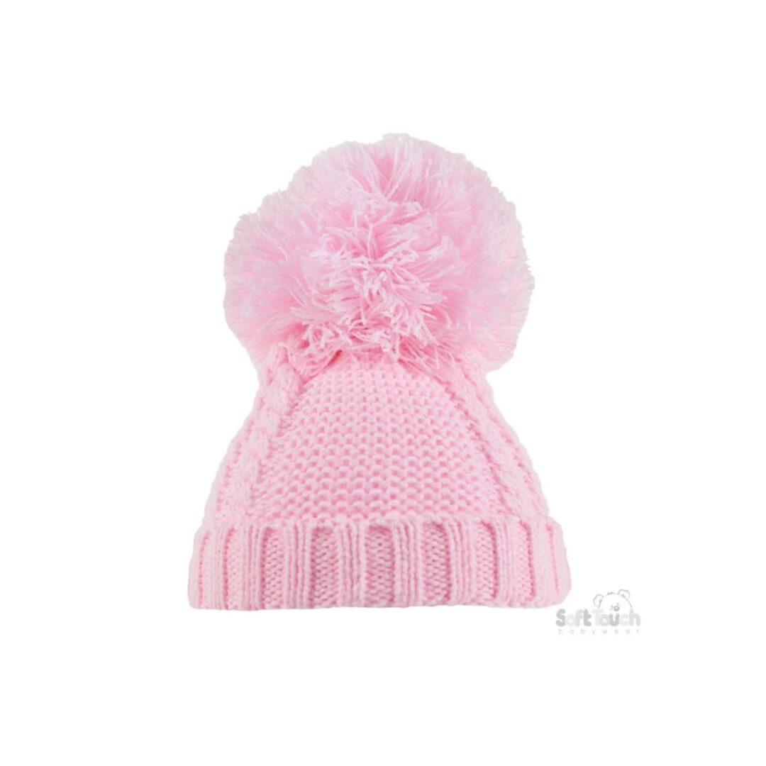 Pink Pom Pom Hat-min (1)