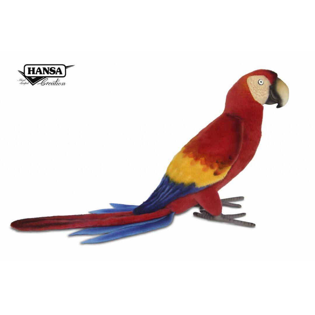 Scarlett Macaw Hansa-min