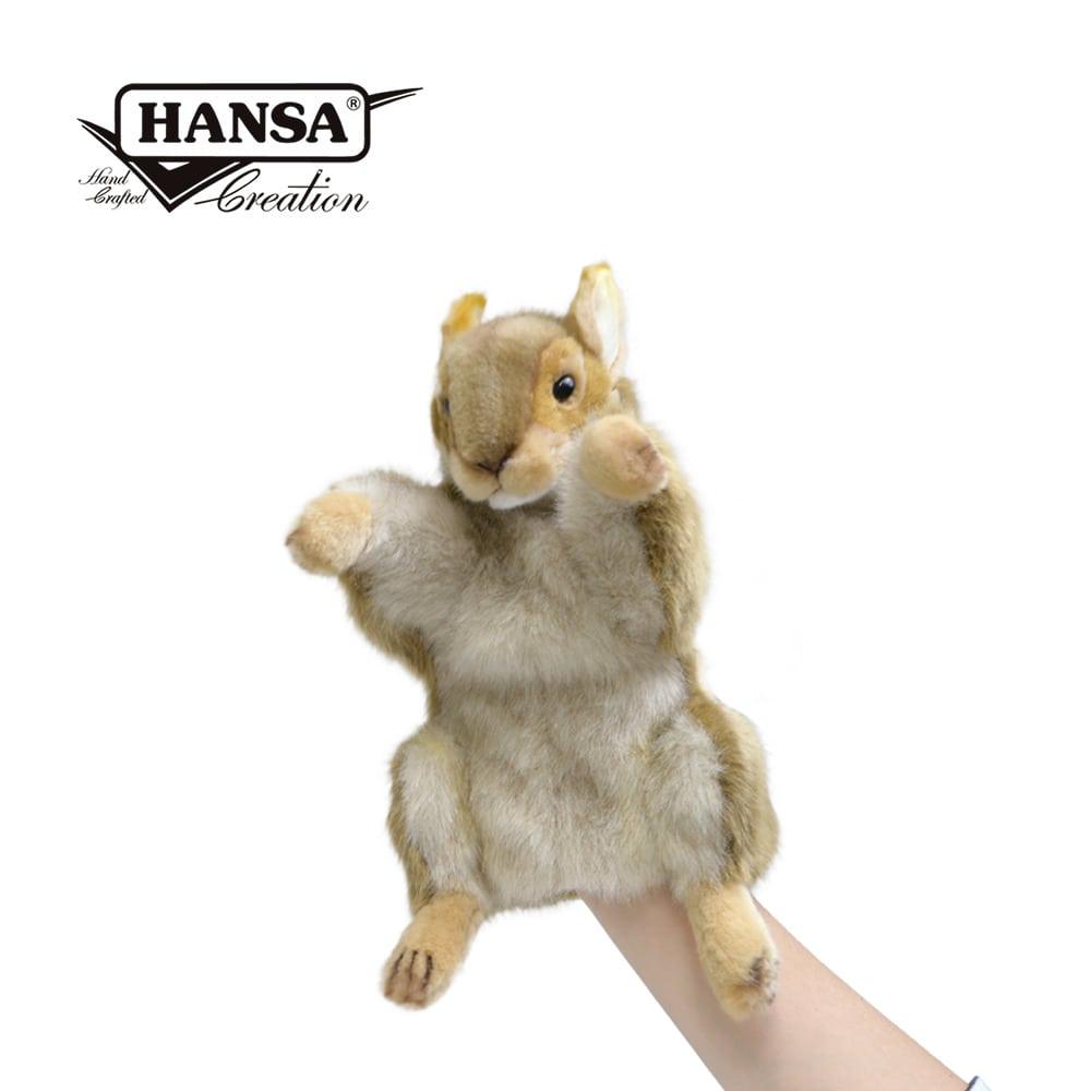 Squirrel Hand Puppet-min